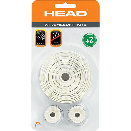 HEAD Xtreme Soft Overgrip White, 12 Pack