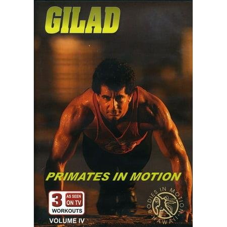 Gilad: Bodies in Motion: Volume 4: Primates in Motion (DVD)