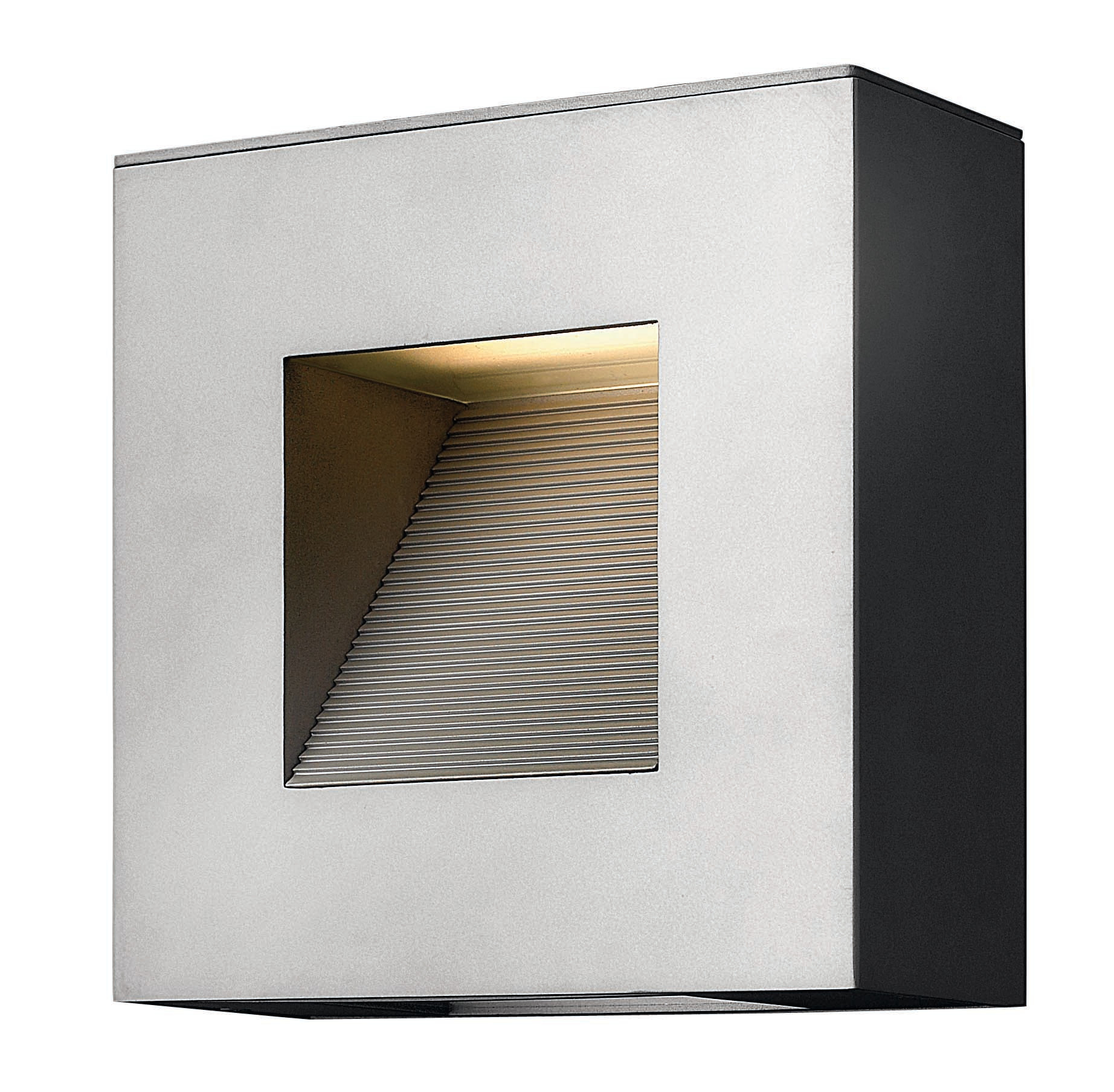 """Hinkley Lighting H1647 9"""" Height 2-Light ADA Compliant Dark Sky Outdoor Wall Sconce from the Luna Collection"""