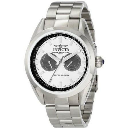 Invicta Men's 14703 Speedway Analog Display Swiss Quartz Silver Watch