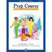 Alfred 00-6402 Basic Piano Prep Course- Technic Book E - Music Book