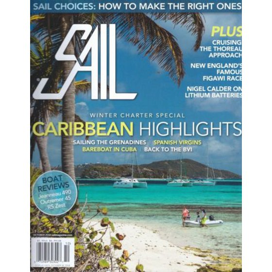 Sail Magazine - October 2018 - Winter Charter Special