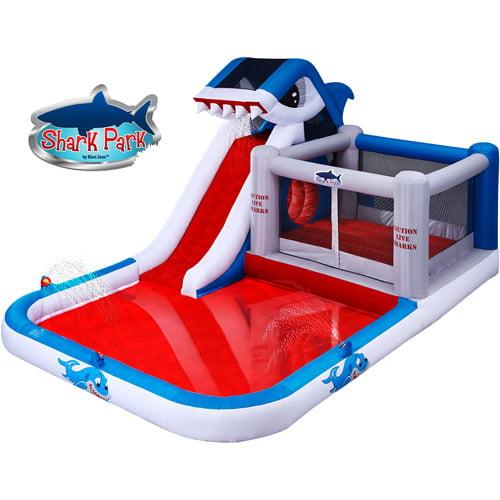 Blast Zone Shark Park Inflatable Play Park