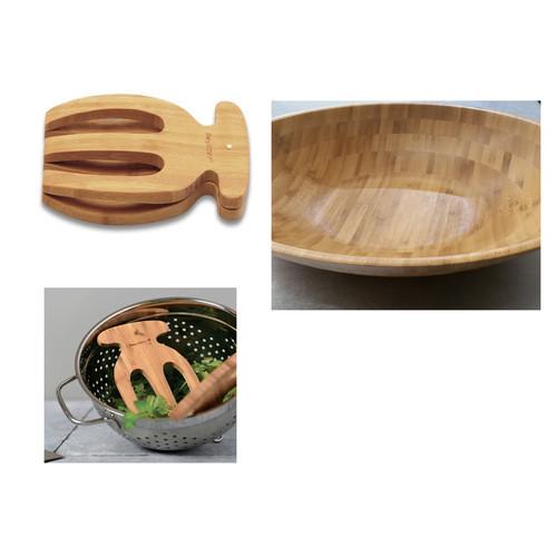 BergHOFF International 6 Piece Wood Salad Bowl Set