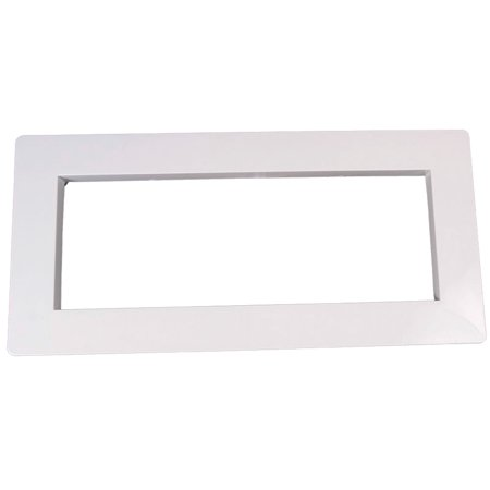 Custom 25541-000-020 Skimmer Faceplate Wide Cover - White White Faceplate Cover