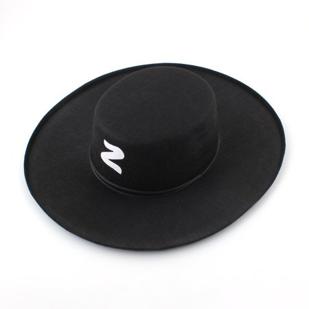 Adult Bandit Hat Zorro Halloween Costumes Party Hats (Halloween Party Decor Adults)
