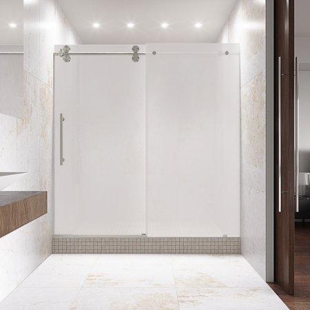 0.375' Frosted Shower Enclosure - Vigo 60