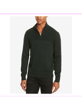 Kenneth Cole Reaction Men's Marled Sweater, Juniper, Size S