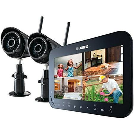 Lorex Lw2742 Wireless 4 Channel Surveillance System With 7