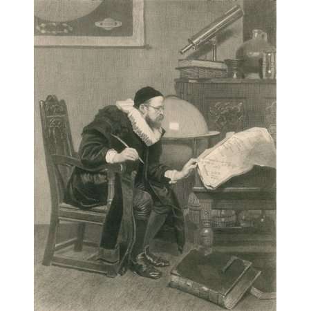 The Astrologer 1879 Poster Print by Science Source