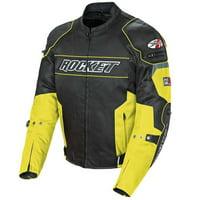Joe Rocket Resistor Jacket Yellow / Black Size:2XL