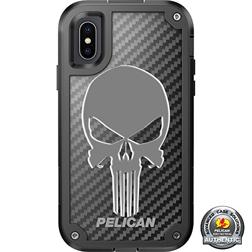 LIMITED EDITION Pelican Shield Kevlar Case for iPhone X Designs by Ego Tactical with up to 24-foot drop protection: Triple Canopy- Special Forces, Ranger, Airborne