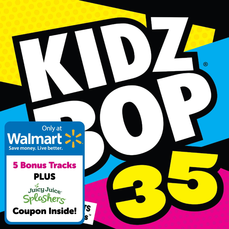 Kidz Bop Kids - Kidz Bop 35 (CD) (Walmart Exclusive) - Walmart.com