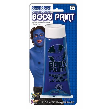 Cream Halloween Makeup - Washable Body Paint 3.4oz Blue