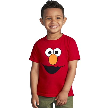 Sesame Street Elmo Face Toddler T-Shirt