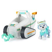 Paw Patrol, Everests Snow Plow Vehicle with Collectible Figure, for Kids Aged 3 and Up