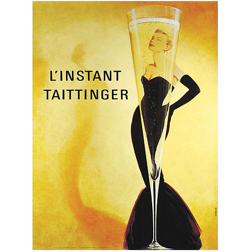 "Trademark Fine Art ""L'Instant Taittinger"" Canvas Art"