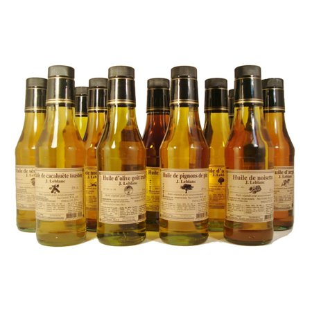 LeBlanc Almond Nut Oil - 17 fl oz (500mL) French Artisan Crafted Cooking