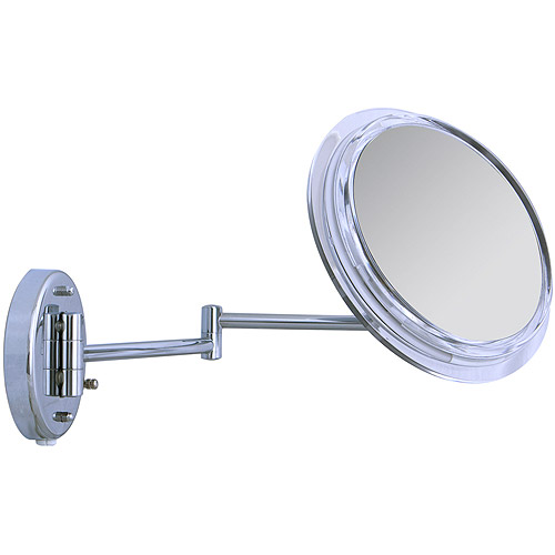 SW37 Zadro Surround Light Wall Mount Mirror with 7x Magnification