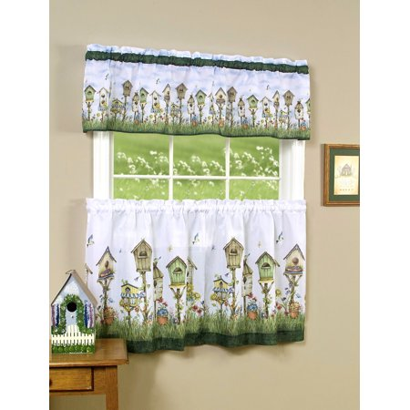 Birdhouse Kitchen Curtains Best Decorating Ideas