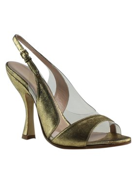 3ccf35745b12 Product Image Vivienne Westwood Womens Gold Ankle Strap Heels Size 4 New.  ASICS