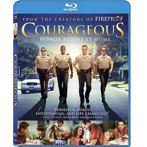 Courageous (Blu-ray) (With INSTAWATCH) (Anamorphic Widescreen)