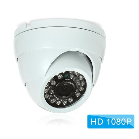 """1080P HD IP Camera 2.0MP Dome Cam 1/2.7"""" CMOS IR Lens 3.6mm H.265/H.264 Night View IR-CUT Network P2P Android Remote View Motion Detection Waterproof CCTV Camera Baby Monitor 1920*1080 Home"""