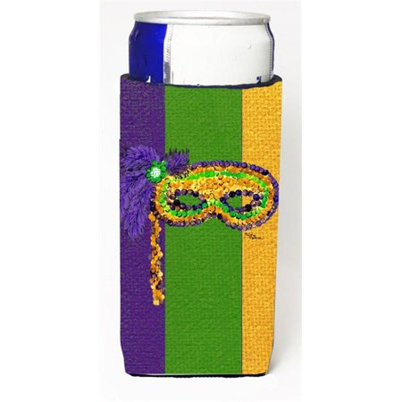 Mardi Grass Mask Michelob Ultra s For Slim Cans - 12 oz.