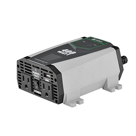Cobra CPI490 400W Compact Power Inverter - Mfr. Refurbished Cobra 400w Power Inverter