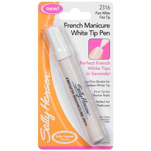 Sally Hansen French Manicure White Tip Pen, Pure White 2316