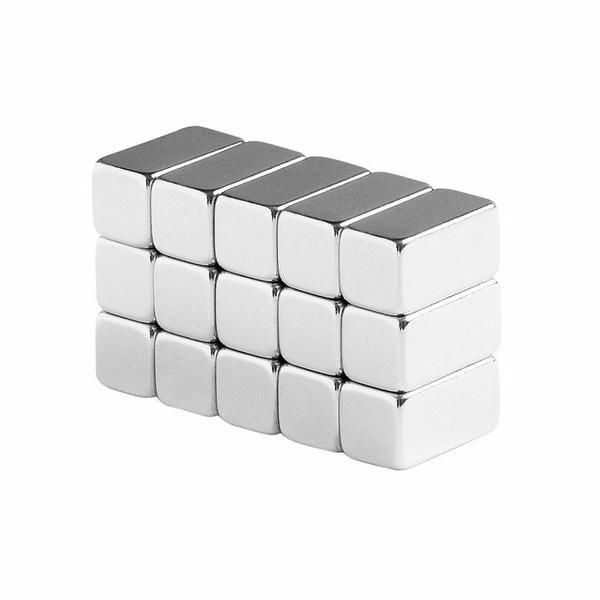 6 Pack 1 x 1//4 x 1//4 Inch Neodymium Rare Earth Bar Magnets N48