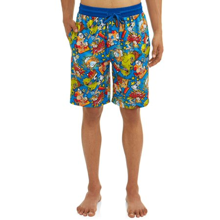Nickelodeon Men's Retro Character Pajama Sleep Jam Short](Character Onesies For Adults Uk)