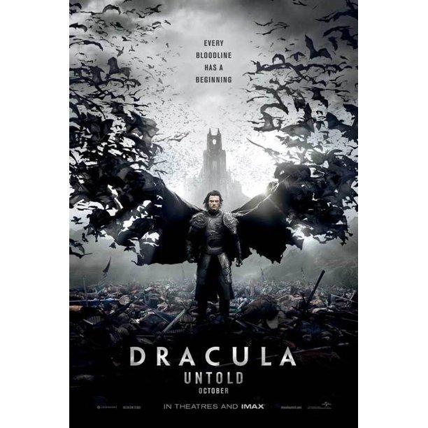 Dracula Untold 2014 11x17 Movie Poster Walmart Com Walmart Com