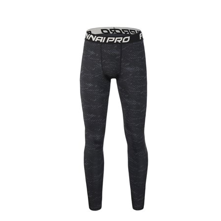 an Sports Tights Trousers Breathable Elastic Compression Pants Basketball Running Training Quick Drying Sweat-Free