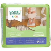 Seventh Generation Kids Free & Clear Training Pants, Pack of 4 (Choose Your Size)