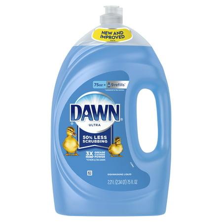 Dish Soap Apron (Dawn Ultra Dishwashing Liquid Dish Soap, Original Scent, 75 fl oz )