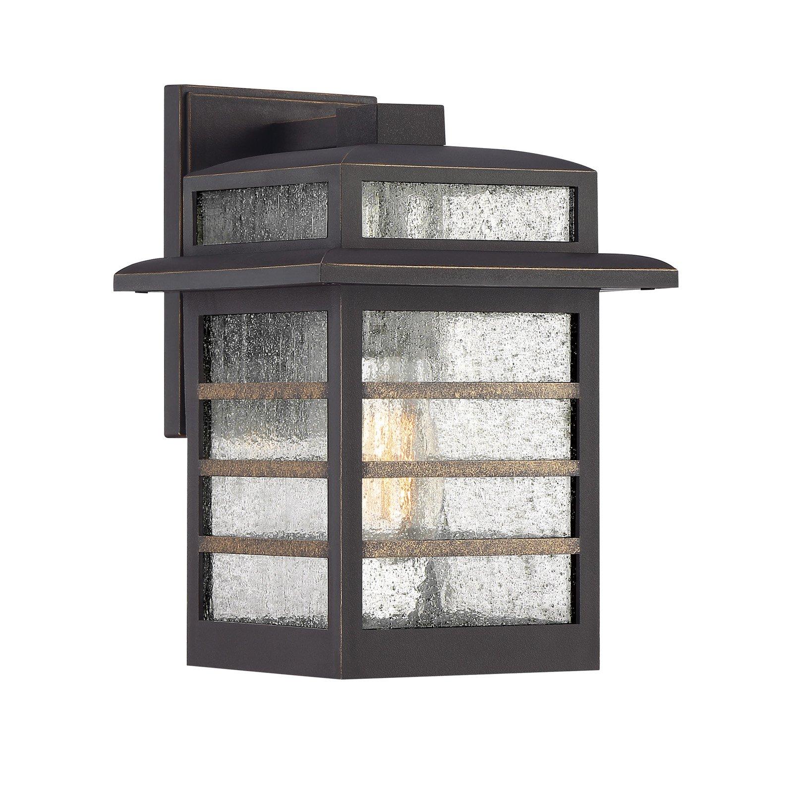 Quoizel Plaza PLA8408PN Outdoor Wall Lantern