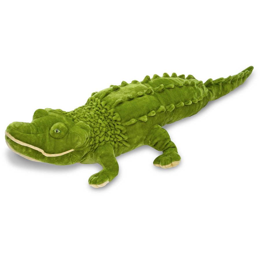 Generic Melissa & Doug Giant Alligator  -  Lifelike Stuffed Animal (nearly 6 feet long)