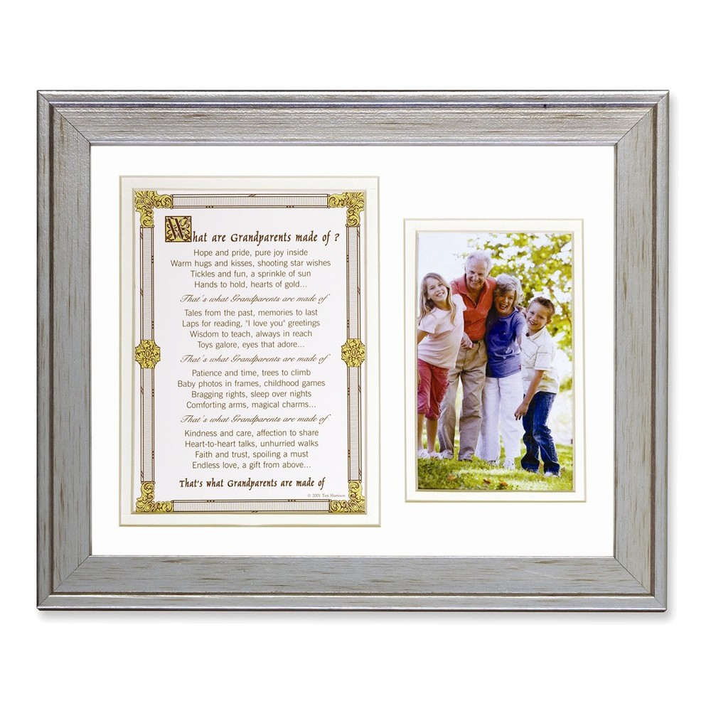 What Are Grandparents Made of Poem & Photo Frame - Walmart.com