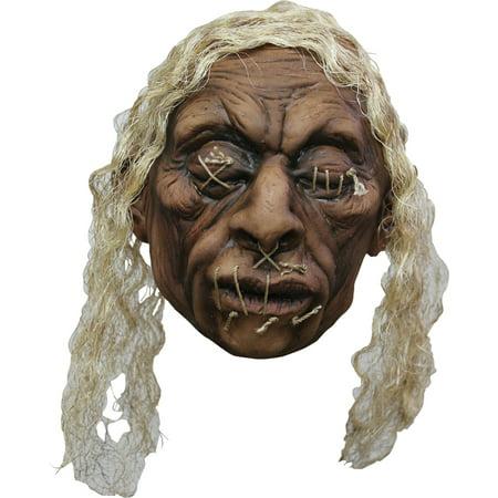 Shrunken Head Halloween Decoration - Styrofoam Head Halloween Decorations