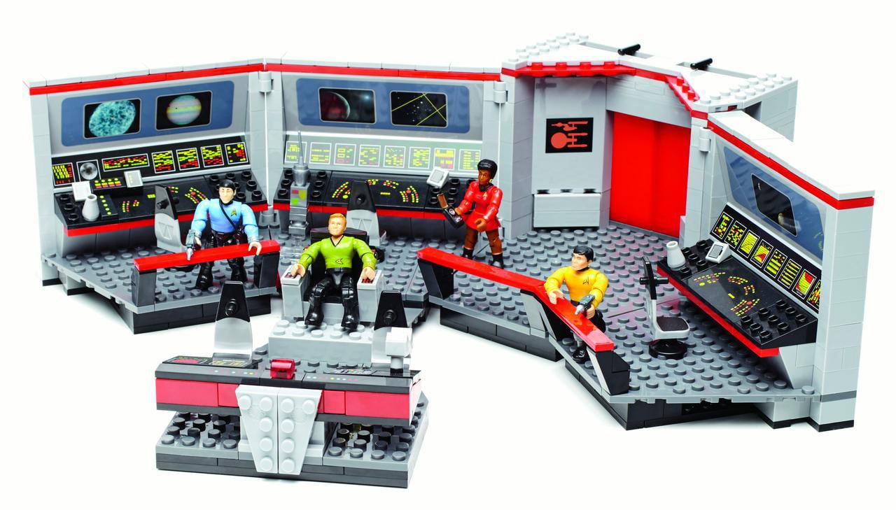 Mega Bloks Star Trek U.S.S. Enterprise Bridge Collector Construction Set by Mattel