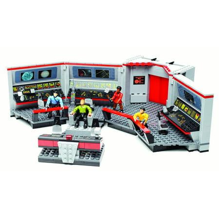 Mega Bloks Star Trek U S S  Enterprise Bridge Collector Construction Set