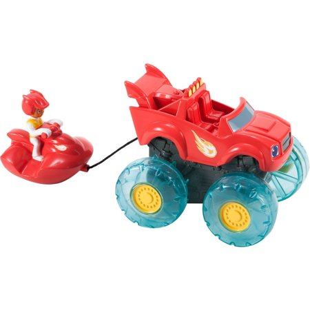 Fisher Price Nickelodeon Blaze And The Monster Machines Blaze And Aj Water Rider