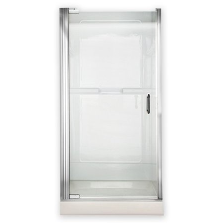 American Standard AM0301D.400.213 25.4375W x 65.5625H in. Clear Glass Shower Door