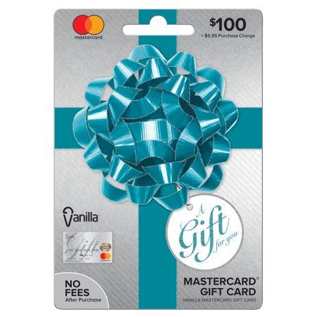 Vanilla Mastercard $100 Party Bow Gift Card