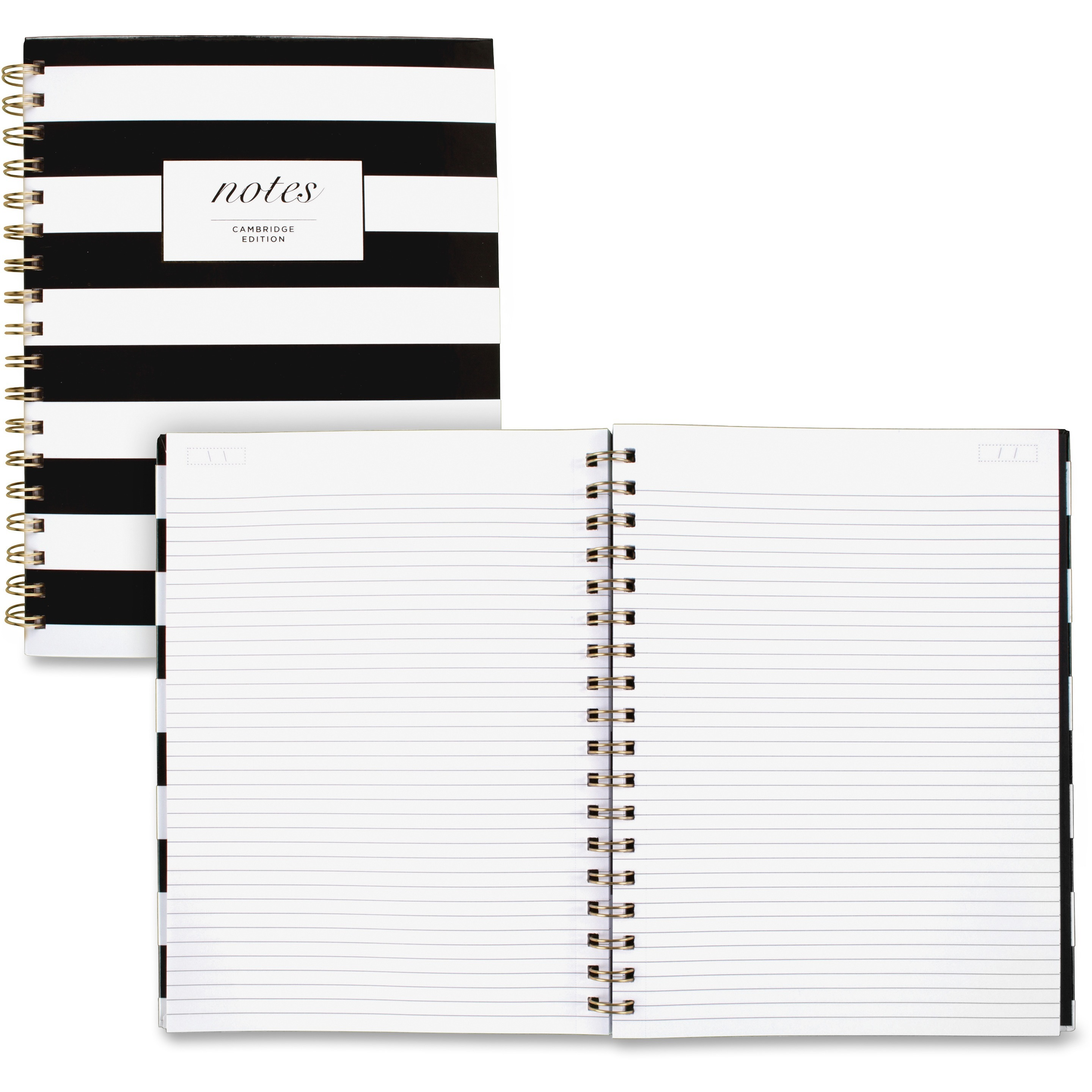 Cambridge, MEA59012, Hardcover Wirebound Notebook, 1 Each