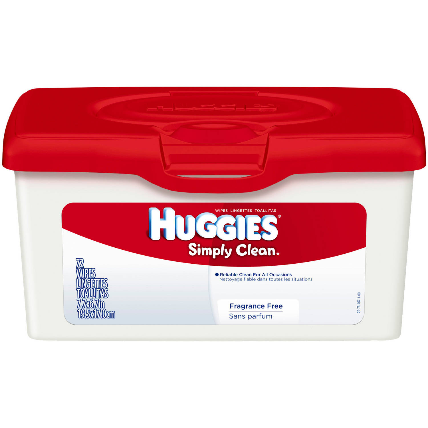 HUGGIES - Simply Clean Refreshing Baby Wipes, 72 Sheets