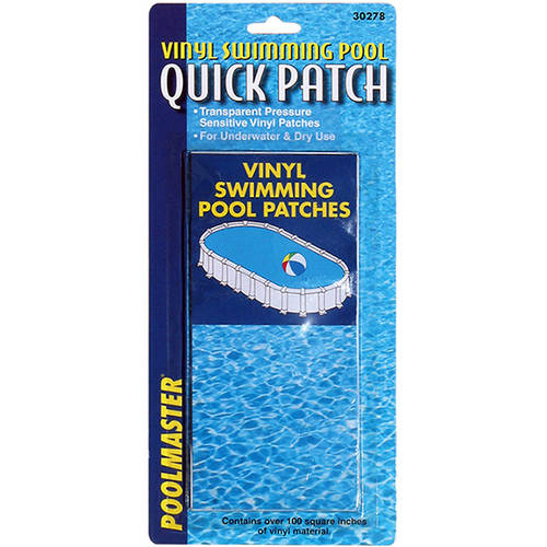 Poolmaster Vinyl Swimming Pool Quick Patches, 6 1/2-Inch by 3-Inch