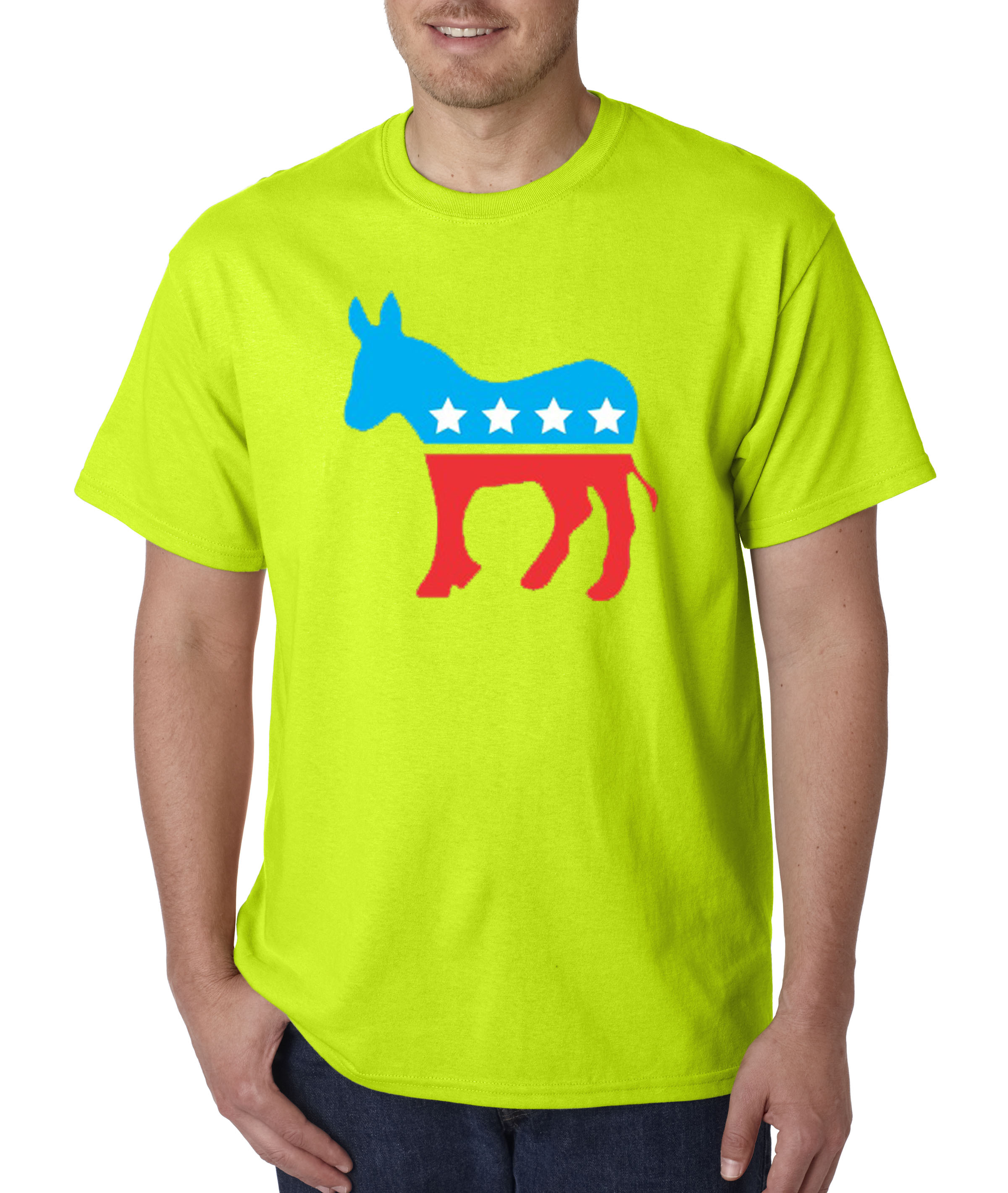 1011 - Unisex T-Shirt Democrat Donkey Mascot Liberal ...