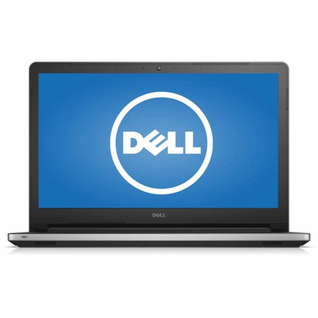 "Dell Silver Matte 15.6"" Inspiron 15 5000 Series i5558-6429SLV Laptop PC with Intel Core i7-5500U Processor, 8GB Memory, 1TB Hard Drive and Windows 8.1"